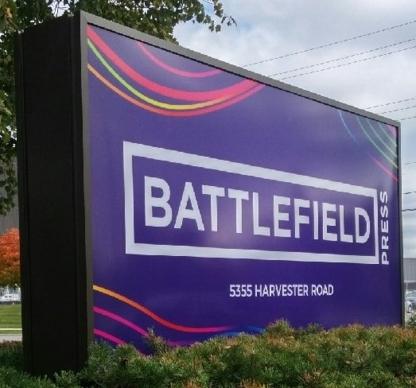 Battlefield Press - Copying & Duplicating Service - 905-333-4114