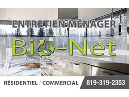 Bio-Net - Commercial, Industrial & Residential Cleaning - 819-319-2353