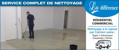 Nettoyage Louis Beaulieu Inc - Nettoyage résidentiel, commercial et industriel - 418-228-1439