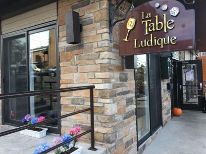 La Table Ludique - Restaurants - 819-774-0750