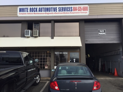 White Rock Automotive Service Ltd - Car Repair & Service - 604-535-6600