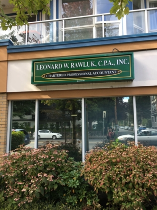 Leonard Rawluk C P A Inc - Accountants - 250-388-5043