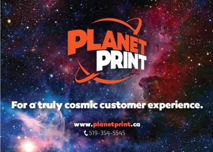 Planet Print - Printers - 519-354-5545