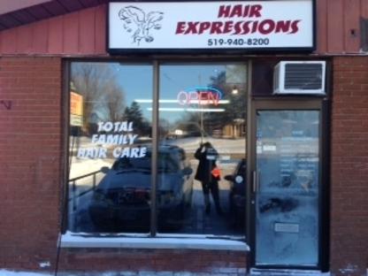 Hair Expressions - Hair Salons - 519-940-8200