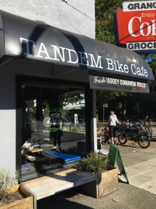 Tandem Bike Café - Restaurants - 778-322-2414