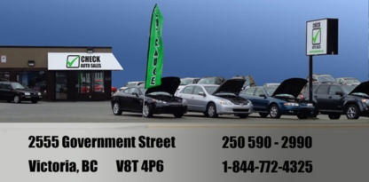 Check Auto Sales - Used Car Dealers - 250-590-2990