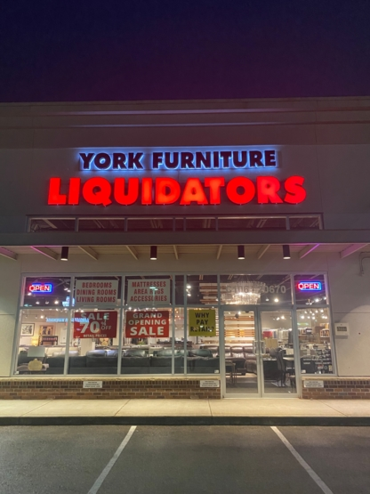York Furniture Liquidators Ltd - Liquidators