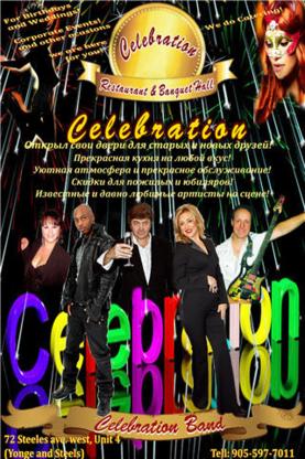 Celebration Restaurant - Event Planners - 905-597-7011