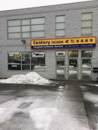 New Century Collision - Auto Body Repair & Painting Shops - 604-433-9592