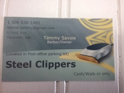 Steel Clippers Barber Shop - Barbers - 506-536-1481