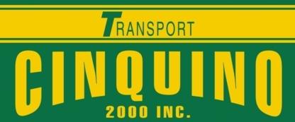 Cinquino Gazons et Transport 2000 - Sable et gravier - 450-632-0825