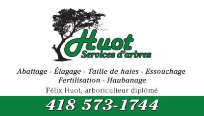 Huot Services D'arbres - 418-573-1744