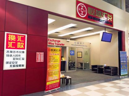 Heng Sheng Financial Party Ltd - Bureaux de change