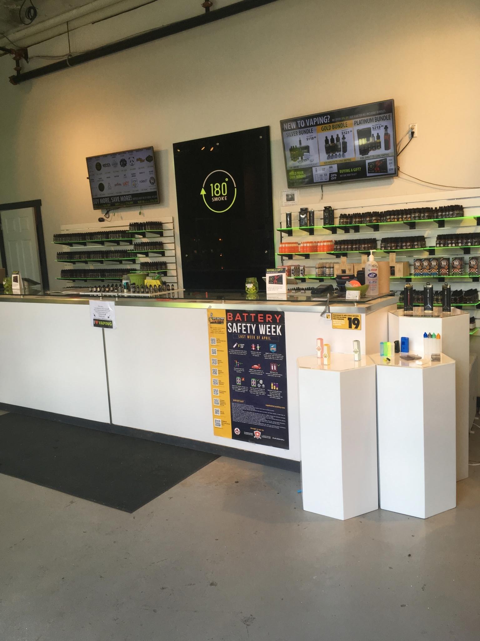 180 Smoke Vape Store - Opening Hours - 3391 Bloor St W