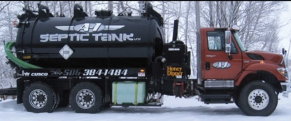 A-1 Septic Tank 2009 Ltd - Compression et collecte de déchets industriels - 506-384-1484