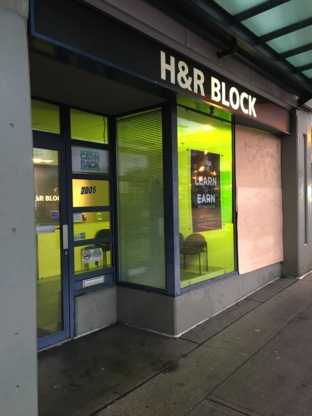 H&R Block - Tax Consultants - 604-225-9820