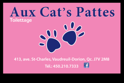 Aux Cat's Pattes - Pet Grooming, Clipping & Washing - 450-218-7333
