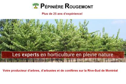 Pépinière Rougemont Enr - Pépinières et arboriculteurs - 450-469-4807
