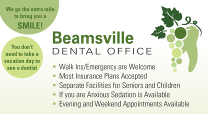 Beamsville Dental Office - Dentists - 905-563-6555