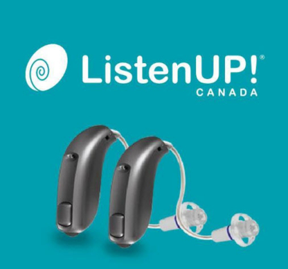 ListenUP Canada - Hearing Aids - 416-925-9223
