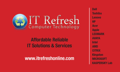 IT Refresh Computers - Computer Stores - 647-498-8430
