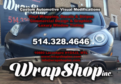 Wrap Shop - Auto Body Repair & Painting Shops