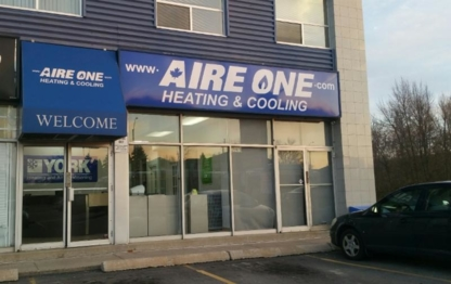 Aire One West Heating & Cooling - Fournaises - 905-935-2800