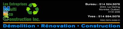 Voir le profil de Les Entreprises Multi Éco Construction LEMEC - Longueuil