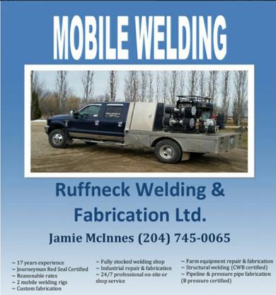 Ruffneck Welding & Fabrication - Welding - 204-745-0299
