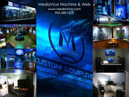 MediaVice Machine & Web - Recording Studios - 905-688-8423