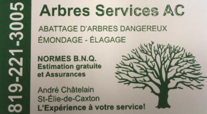 Arbres Service A C - Service d'entretien d'arbres - 819-221-3005