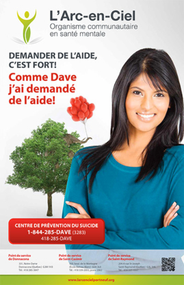 L'Arc-En-Ciel - Mental Health Services & Counseling Centres - 418-285-3847