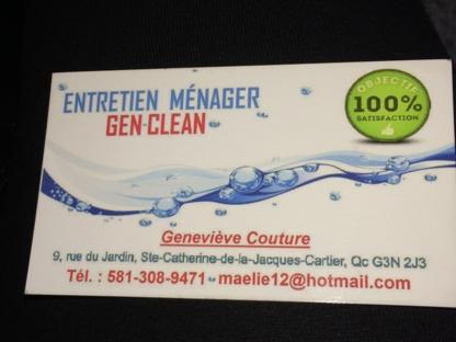 Entretien ménager Gen Clean - Nettoyage résidentiel, commercial et industriel - 581-308-9471