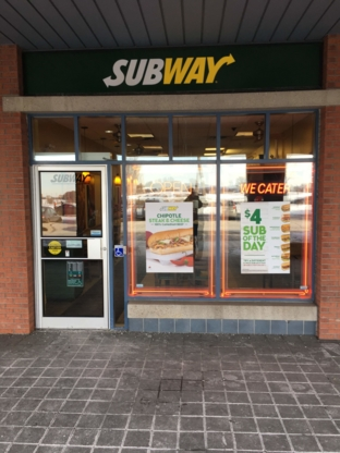 Subway® Restaurants - Sandwiches et sous-marins - 613-225-0101