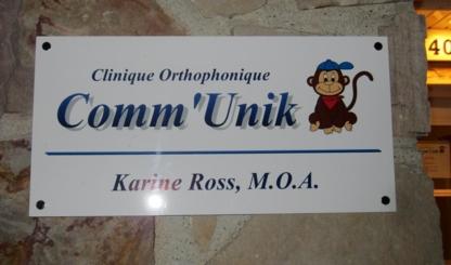 Clinique Orthophonique Comm'Unik - Orthophonistes - 418-574-1232