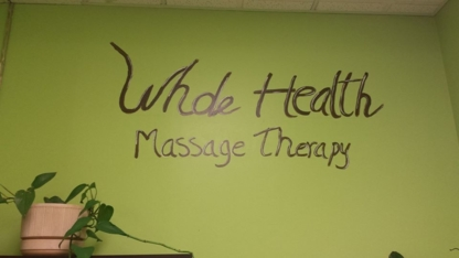 Whole Health Massage Therapy - Registered Massage Therapists - 306-569-3565