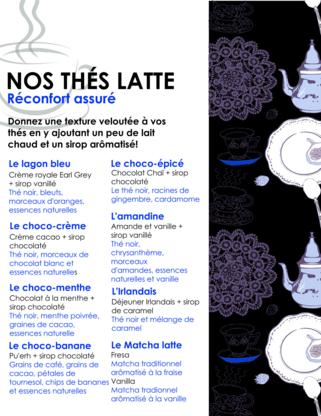 Tastea - Thé - 450-332-0780
