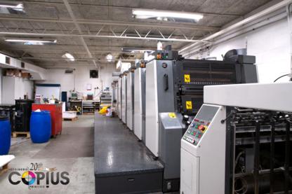 Copius Imprimerie Printing Inc - Printers