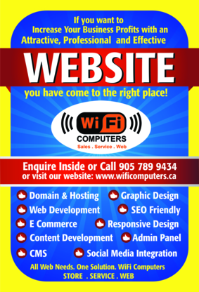 Wifi Computers Inc - Computer Stores - 905-789-9434