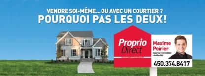 Maxime Poirier Courtier Immobilier Résidentiel - Real Estate Agents & Brokers - 450-374-8417