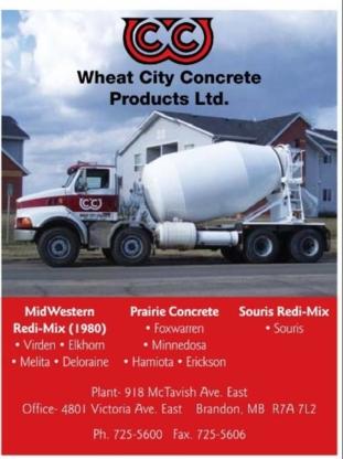 Prairie Redi-Mix - Ready-Mixed Concrete