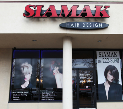Siamak Hair Design - Eyebrow Threading - 416-222-8090