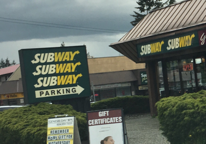 Subway - Take-Out Food - 604-937-7827