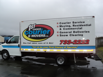 First Choice Courier & Movers Ltd - Déménagement et entreposage - 709-733-2222