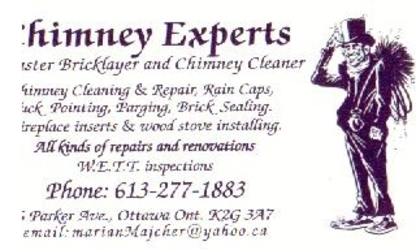 Chimney Experts Chimney Cleaner & Master Bricklay - Chimney Cleaning & Sweeping