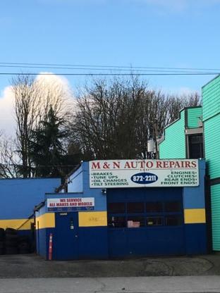 M & N Auto Repair - Car Repair & Service