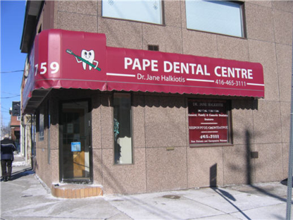 Pape Dental Centre - Dentists - 416-465-3111