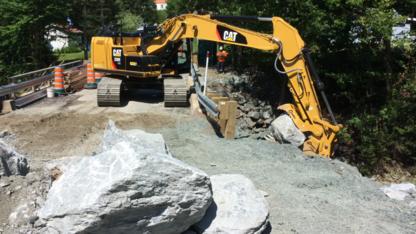 Excavation Gravière Lamontagne Inc - Entrepreneurs en excavation - 418-428-4422