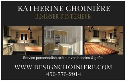 Katherine Choinière Designer d'Intérieur - Designers d'intérieur - 450-775-2914