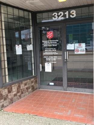 Salvation Army - Social & Human Service Organizations - 604-872-7676